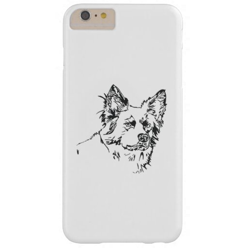 dog design barely there iPhone 6 plus case