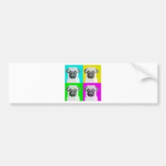 Dog Design Style! Bumper Sticker