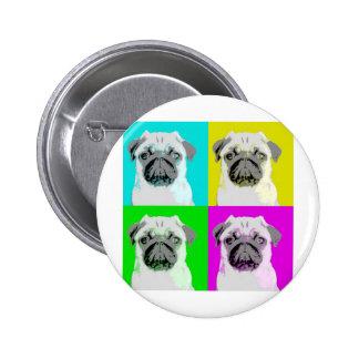 Dog Design Style! Pinback Button
