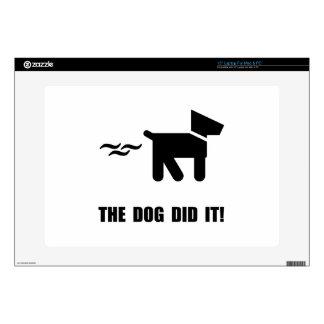 Dog Did It Laptop Skin