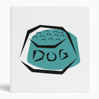 Dog Dish Vinyl Binders