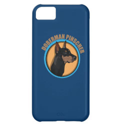 Case-Mate Barely There iPhone 5C Case with Doberman Pinscher Phone Cases design
