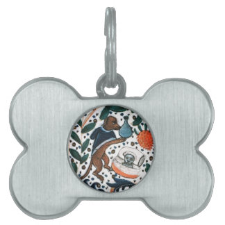 DOG DOCTOR WITH KITTEN PET TAG