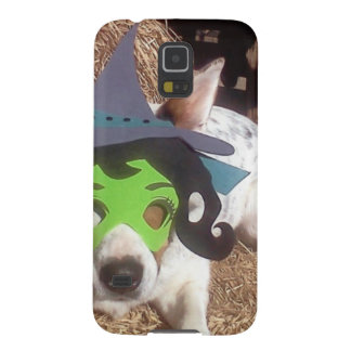 dog, dogs, Halloween, withch, fun, funny, Luna say Galaxy S5 Cover