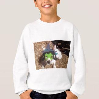 dog, dogs, Halloween, withch, fun, funny, Luna say Sweatshirt