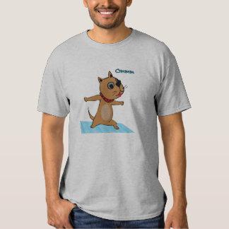 Dog Doing Yoga - Funny Toga Tee for Men