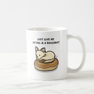 Dog + Doughnut Mugs