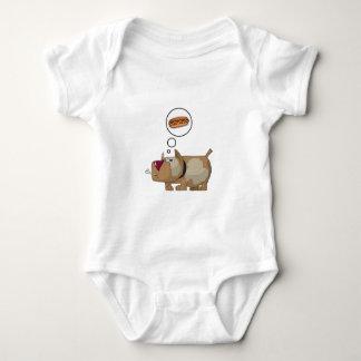Dog Dreams Baby Bodysuit