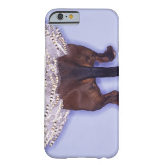 Dog dressed up barely there iPhone 6 case