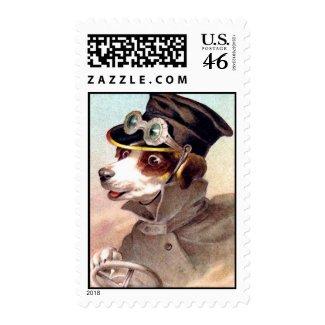 Dog Driver stamp