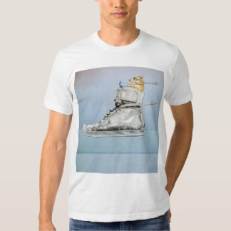 Dog Driving Shoe Mens T-shirt