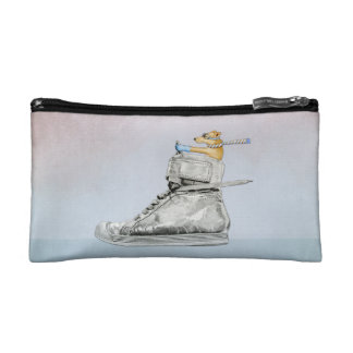 Dog Driving Shoe Small Cosmetic Bag