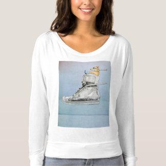 Dog Driving Shoe Womens T-shirt