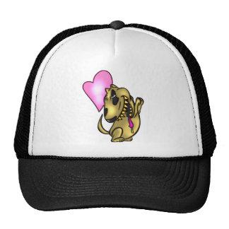Dog Drooling Love Hat