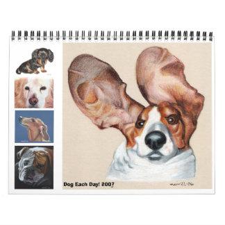Dog Each Day 2007 a Calendar