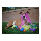 Dog Easter Card