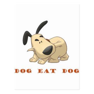 Dog Eat Dog Postcard