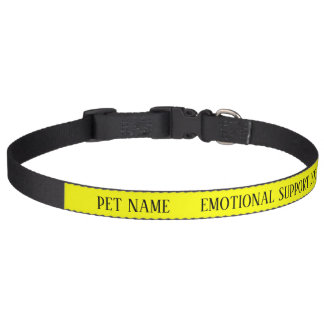 Dog Emotional Support  Alert Collar Custom