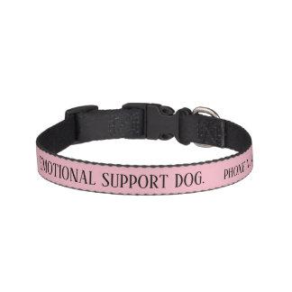 Dog Emotional Support  Alert Collar Custom