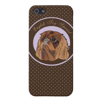 Dog English toy spaniel Case For iPhone SE/5/5s