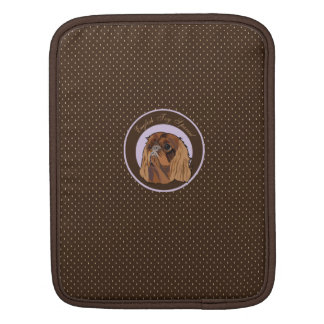 Dog English toy spaniel Sleeves For iPads