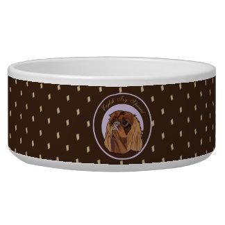 Dog English toy spaniel Dog Bowl
