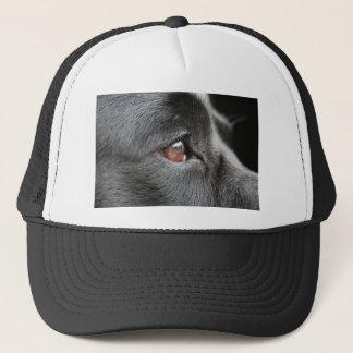 Dog Eye Close Up Trucker Hat