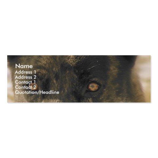 Dog Eyes Business Card