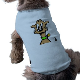 Dog Face Cartoon Tank Top