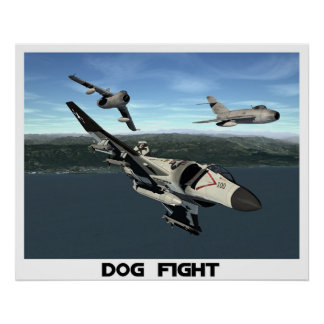 Dog Fight Poster