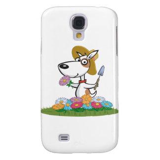 Dog Flower Gardener Samsung S4 Case