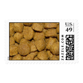 Dog Food! Crunchy Dry Pet Kibble Postage Stamp