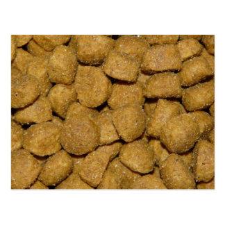 Dog Food! Crunchy Dry Pet Kibble Postcard
