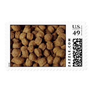 Dog food postage stamp