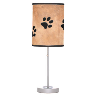 DOG FOOTPRINTS TABLE LAMP
