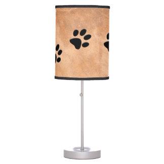 DOG FOOTPRINTS TABLE LAMP