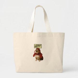Dog Fort T-shirt Canvas Bag