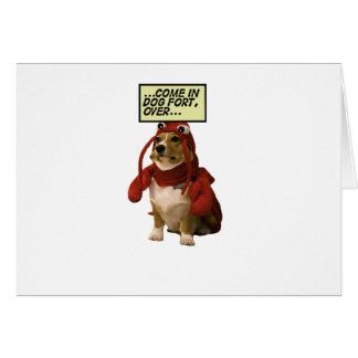 Dog Fort T-shirt Card