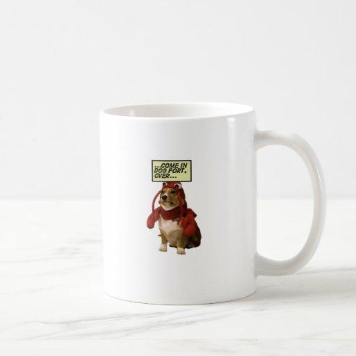 Dog Fort T-shirt Classic White Coffee Mug