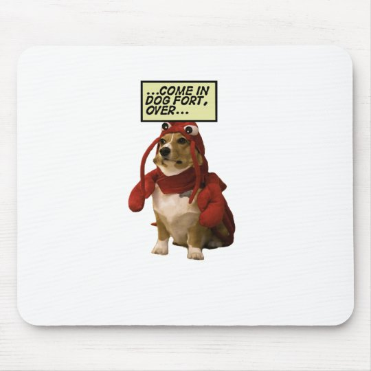 Dog Fort T-shirt Mouse Pad