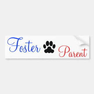 Dog Foster Parent Bumper Sticker