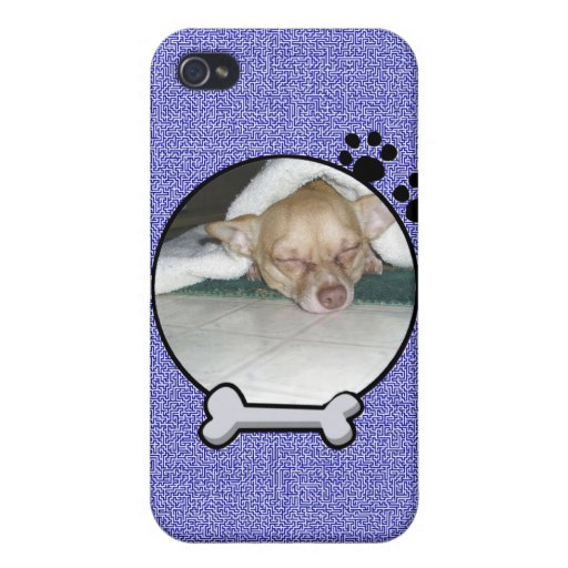 Dog Frame iPhone Case iPhone 4/4S Cover