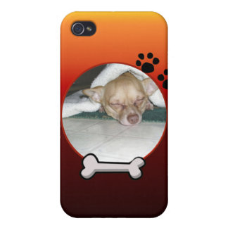 Dog Frame iPhone Case iPhone 4/4S Cases