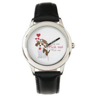 Dog friend wristwatch