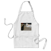 Dog Friendship Adult Apron