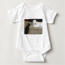Dog Friendship Baby Bodysuit