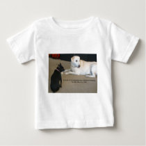 Dog Friendship Baby T-Shirt