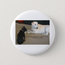 Dog Friendship Button