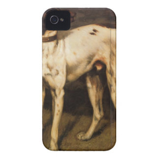 Dog from Ornans by Gustave Courbet iPhone 4 Case-Mate Case