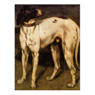 Dog from Ornans by Gustave Courbet Postcard